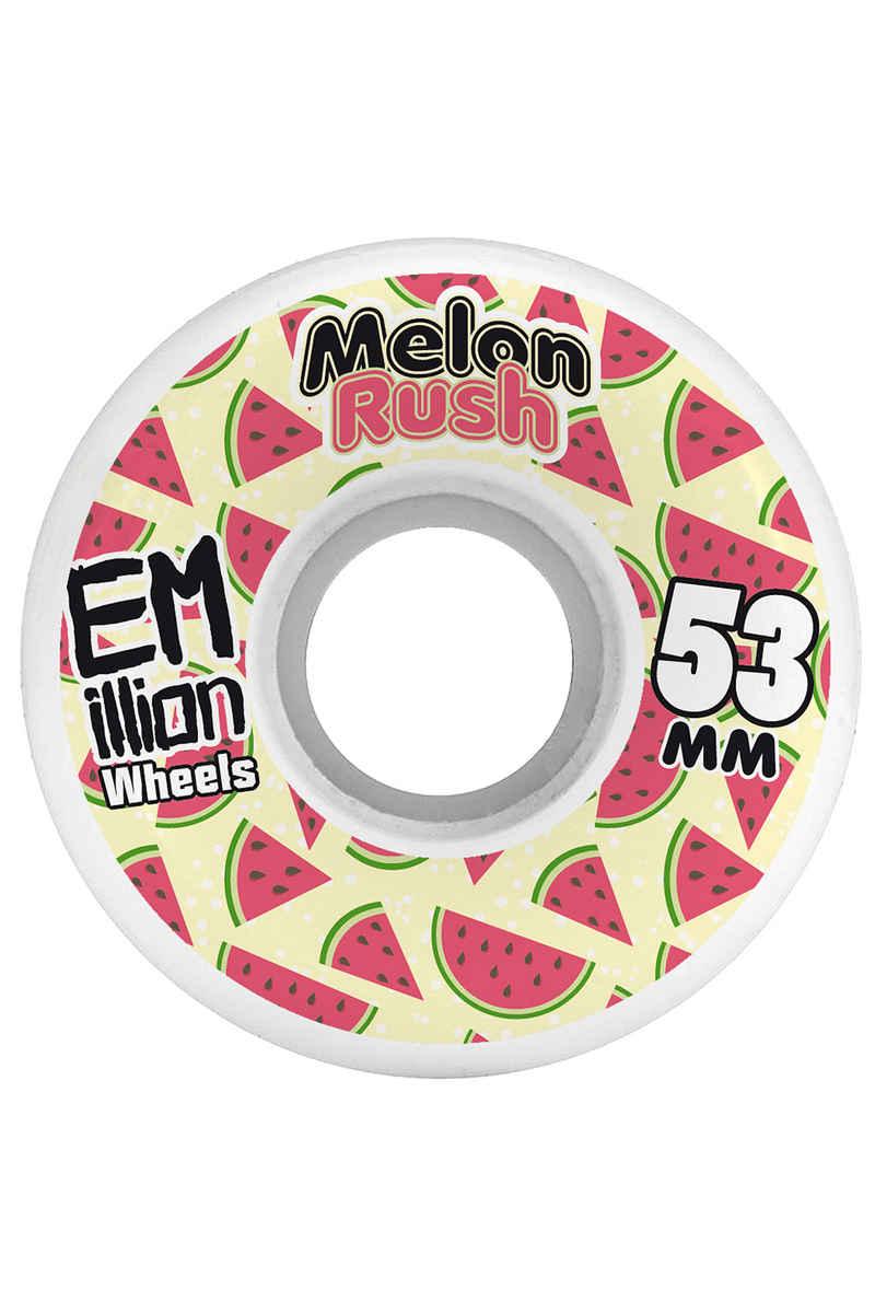 EMillion Melon Rush 53mm Rollen (white) 4er Pack