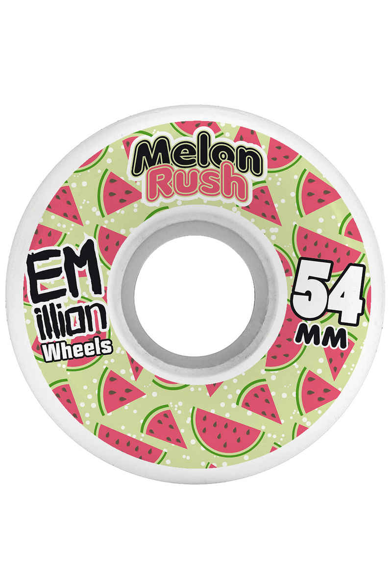EMillion Melon Rush 54mm Roue (white) 4 Pack