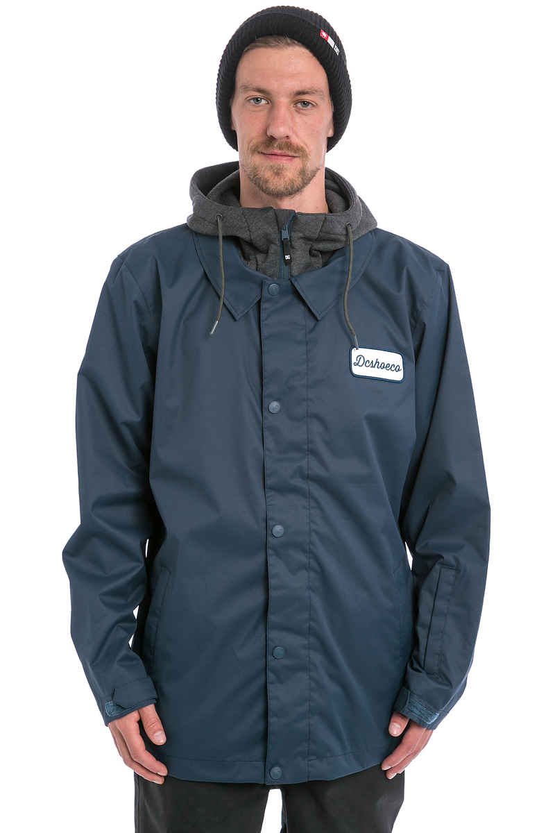 DC Cash Only Snowboard Jacket (insiginia blue)