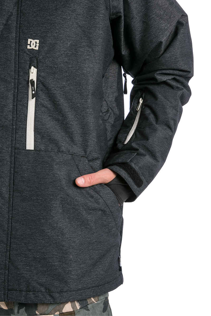 DC Ripley Snowboard Jacket (black white)