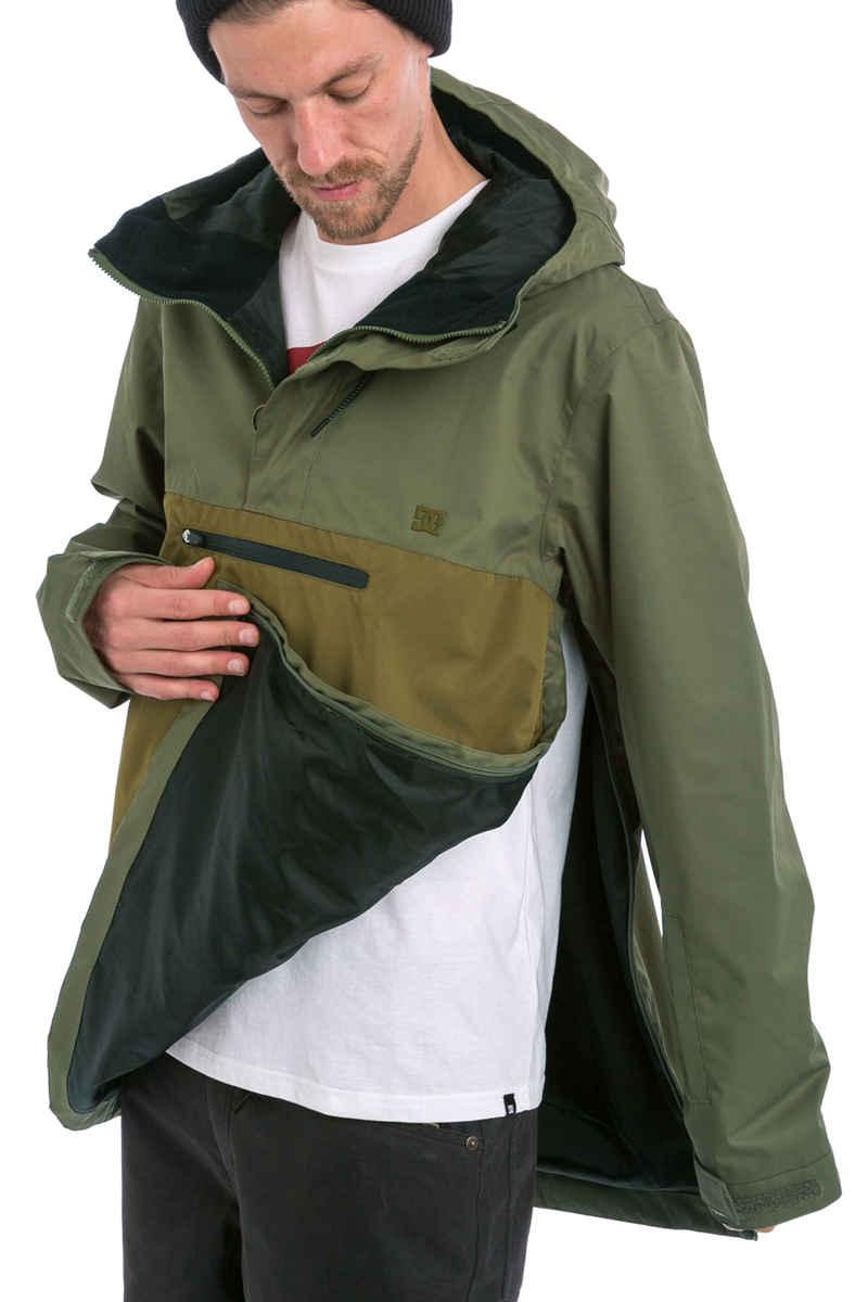 DC Rampart Snowboard Jacket (beetle)