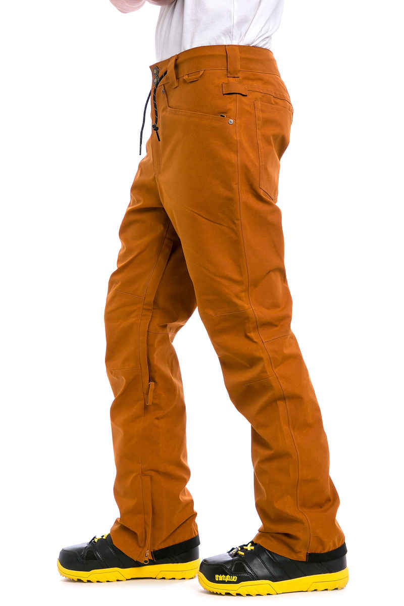DC Relay Snowboard Hose (waxed leather brown)