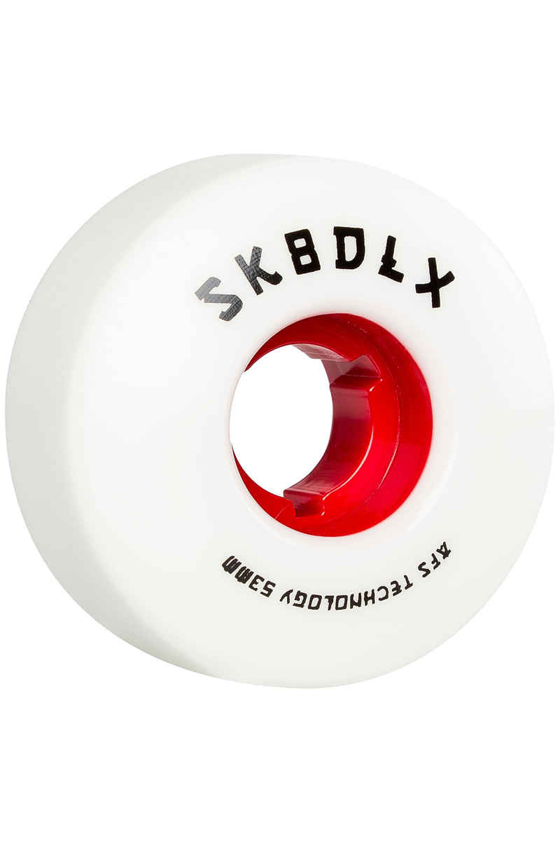 SK8DLX AFS Japan Series 53mm Rueda (white red) Pack de 4