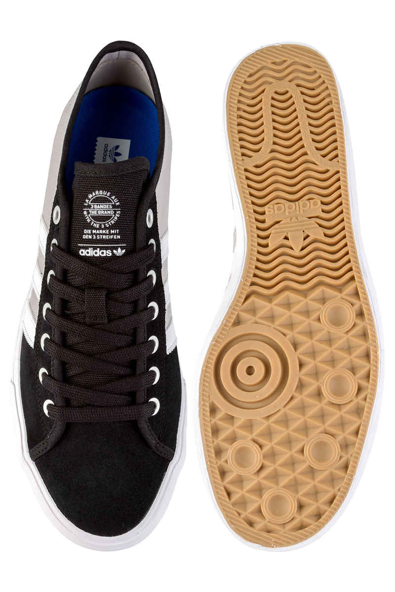 adidas Skateboarding Matchcourt RX Schuh (black white customized)