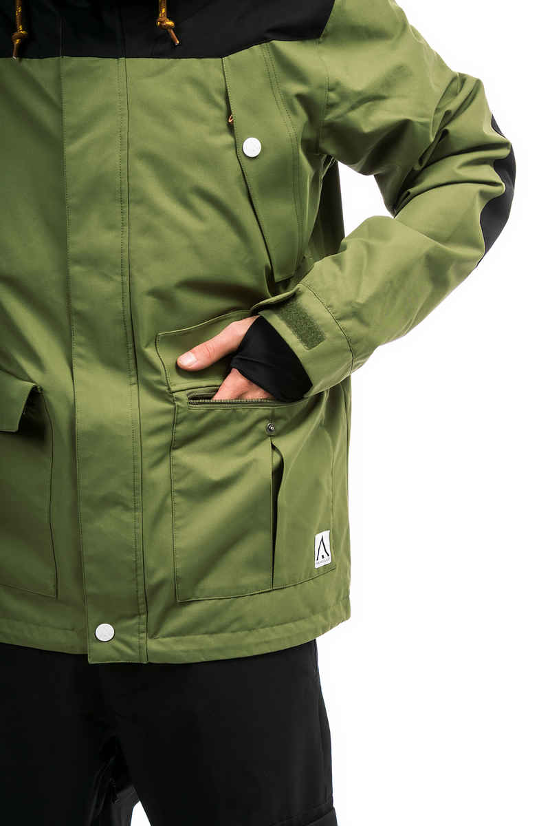 WearColour Charge Snowboard Jacke (loden)