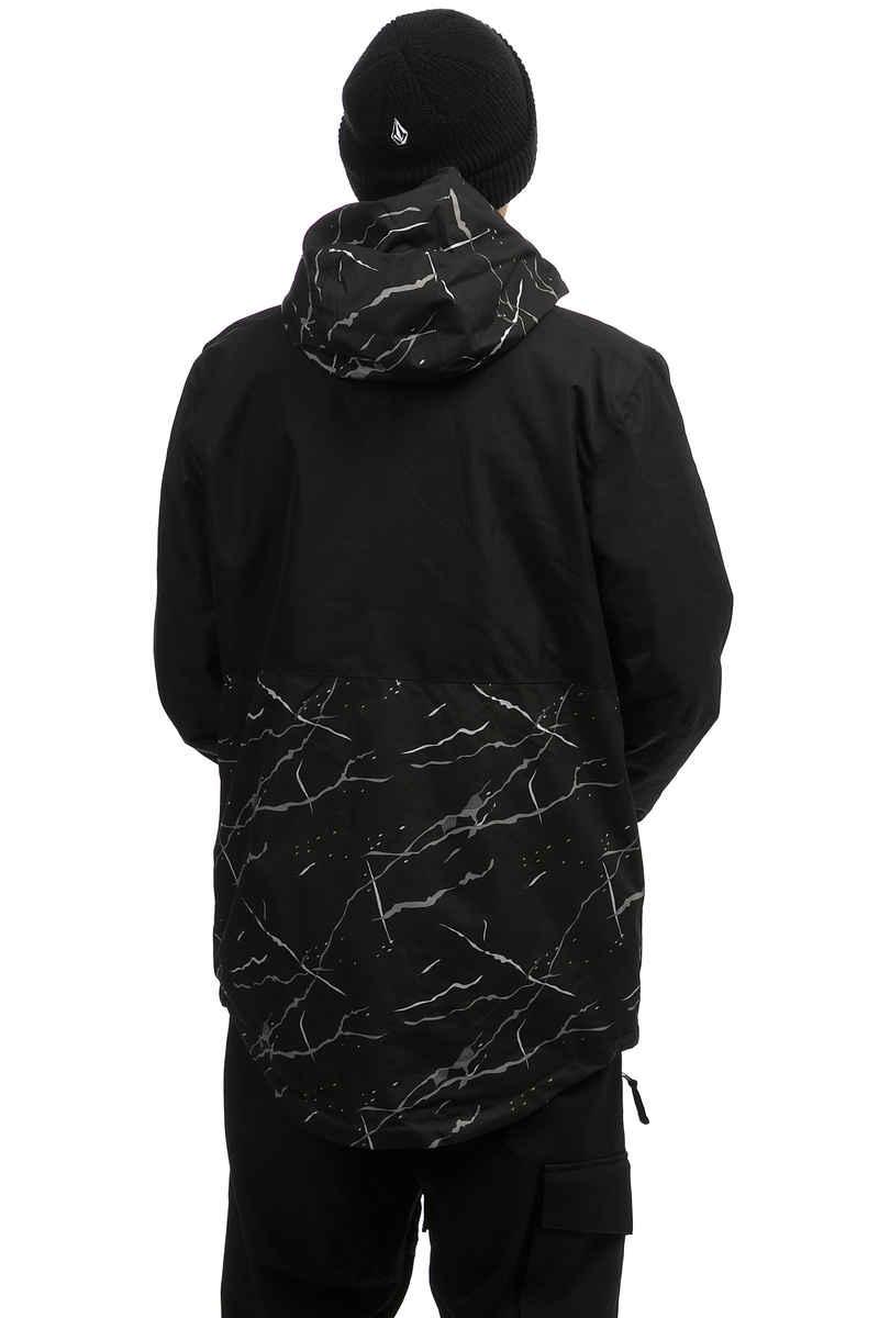 WearColour Block Snowboard Jacke (black marble)