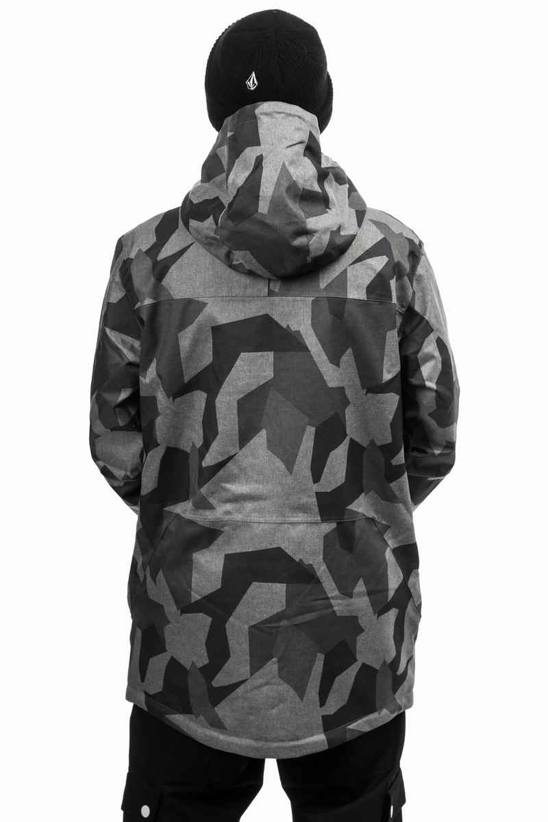 WearColour Stride Snowboard Jacke (asymmetric grey)