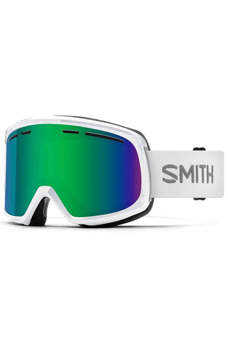 Smith Range Goggles (white green sol-x mirror)