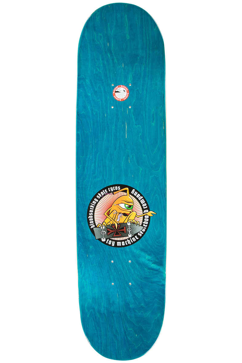 """Toy Machine Finger Puppet Welcome To Hell 8.25"""" Deck (green)"""