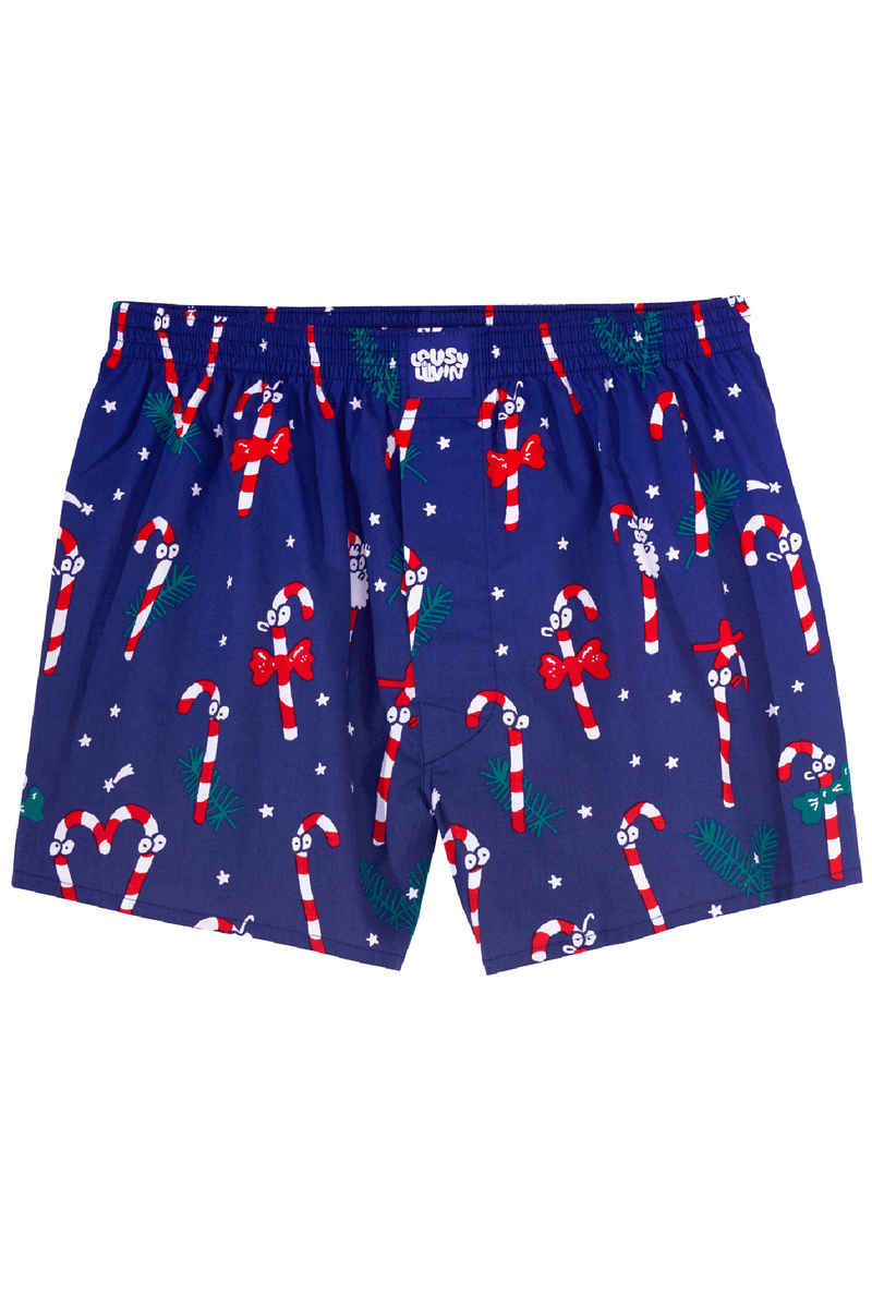 Lousy Livin Underwear Sugar Sticks Boxers (midnight navy)
