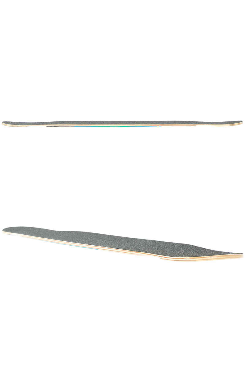 "Long Island Elixir Series - Magic 45"" (114,3cm) Longboard Deck Flex 1 (blue)"
