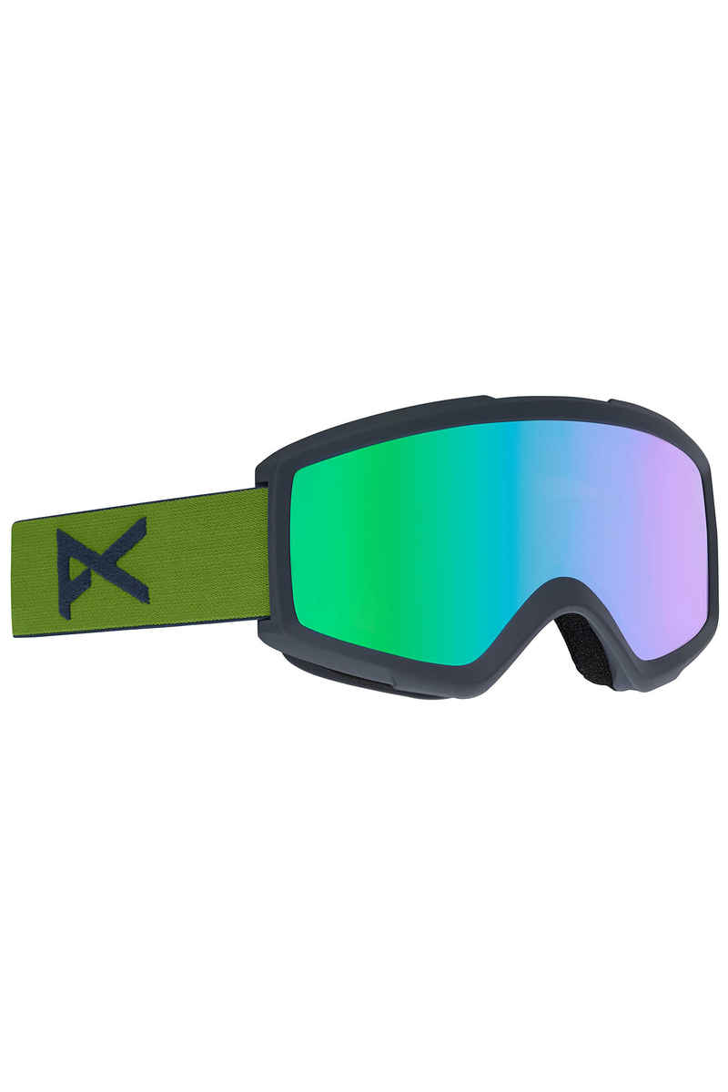 Anon Helix 2.0 Goggles (forest green green solex) incl. 2ème écran