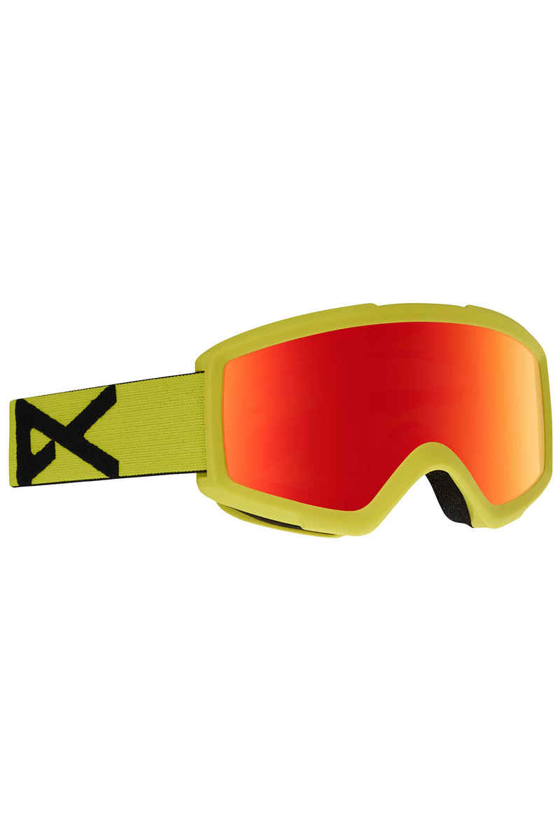 Anon Helix 2.0 Goggles (yellow red solex) incl. 2ème écran