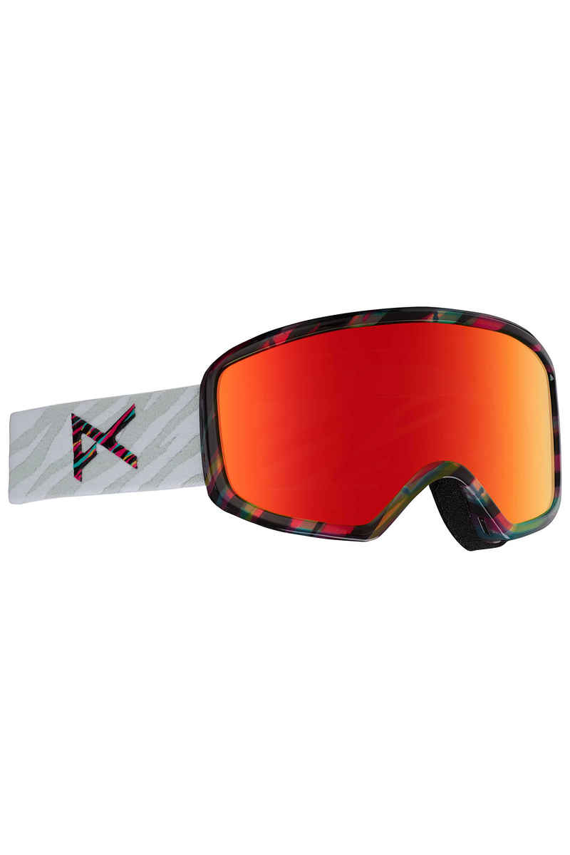 Anon Deringer MFI Goggles women (disco tiger red solex) inkl. Facemask