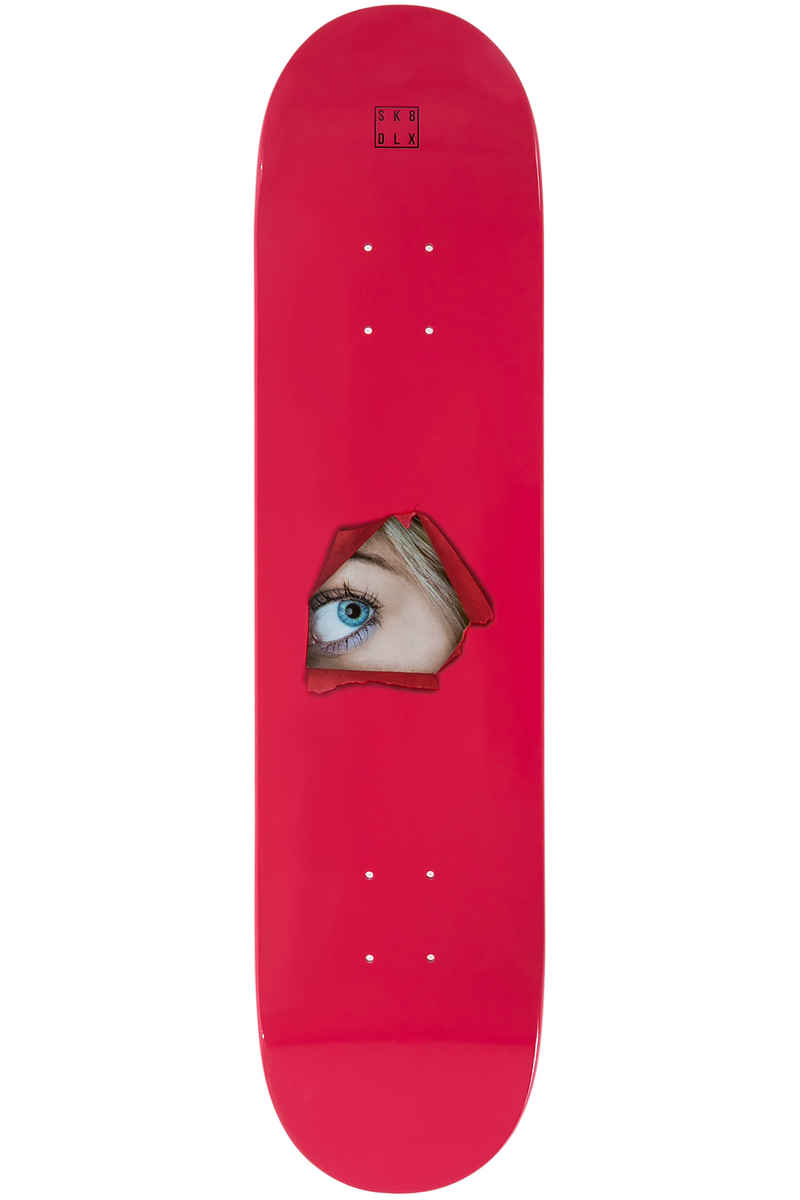 "SK8DLX Face Series 7.75"" Tavola (red)"