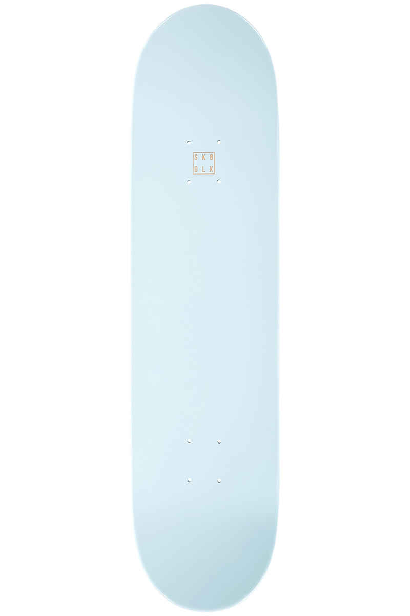 """SK8DLX Face Series 8"""" Planche Skate (turquoise)"""