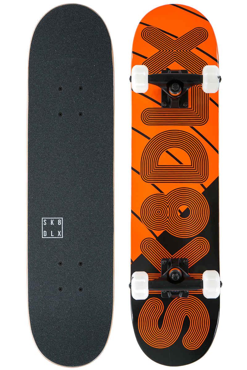 "SK8DLX Linus 7"" Board-Complète kids (black orange)"