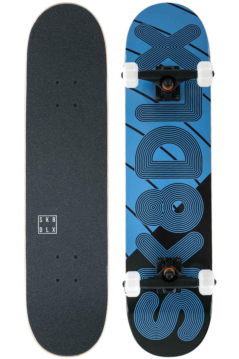 "SK8DLX Linus 7.5"" Komplettboard (blue black)"