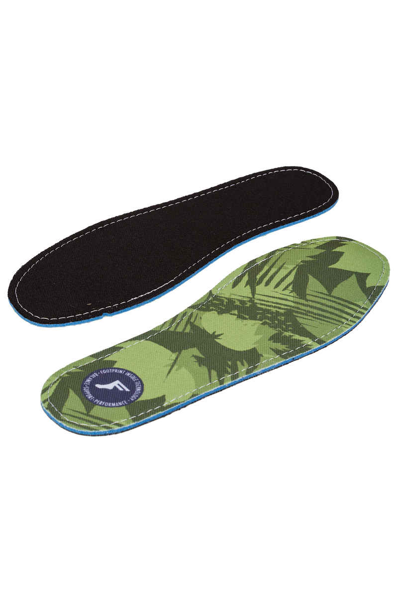 Footprint Camo King Foam Flat Low Plantilla (yellow)