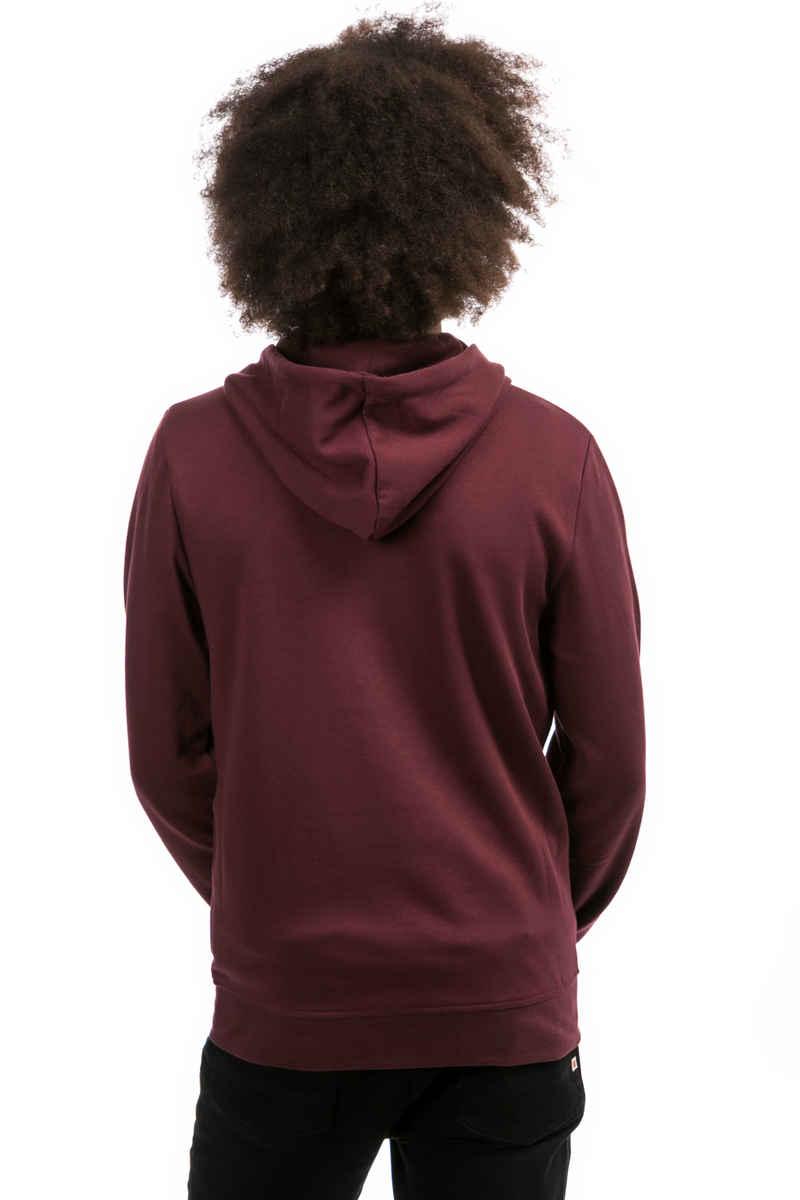 Element Cornell Zip-Sweatshirt avec capuchon (napa red)