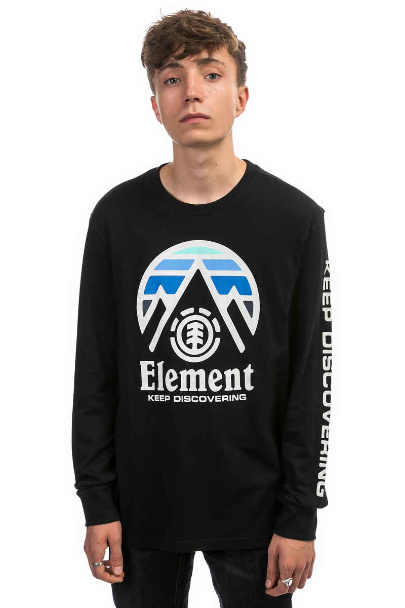 Element Tri Tip Longsleeve (flint black)