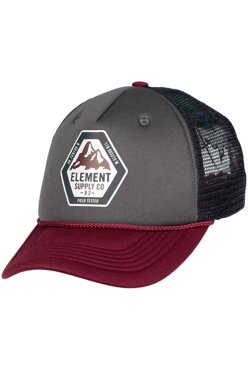 Element Tract Trucker Cap (napa red)