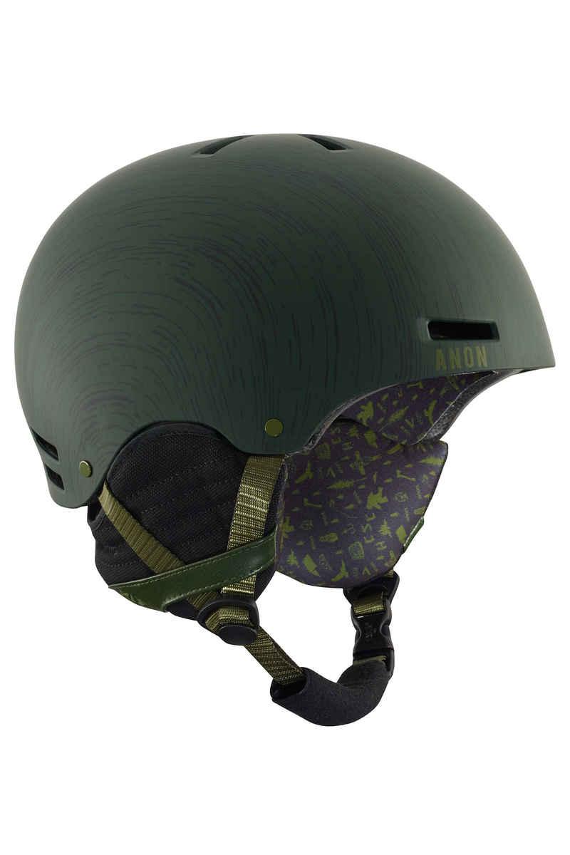 Anon x HCSC Raider Neige-Casque (green)