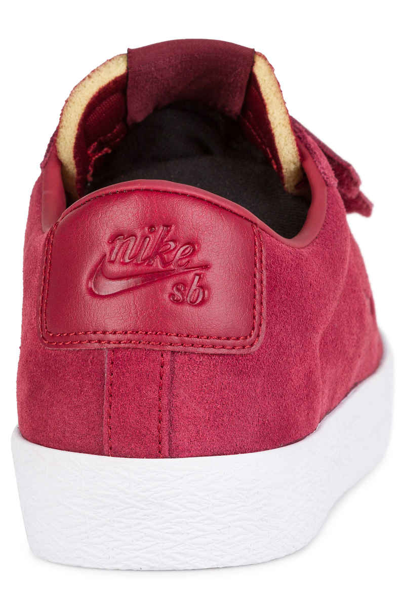 Nike SB x Numbers Zoom Blazer Low AC QS Schuh (team red white)