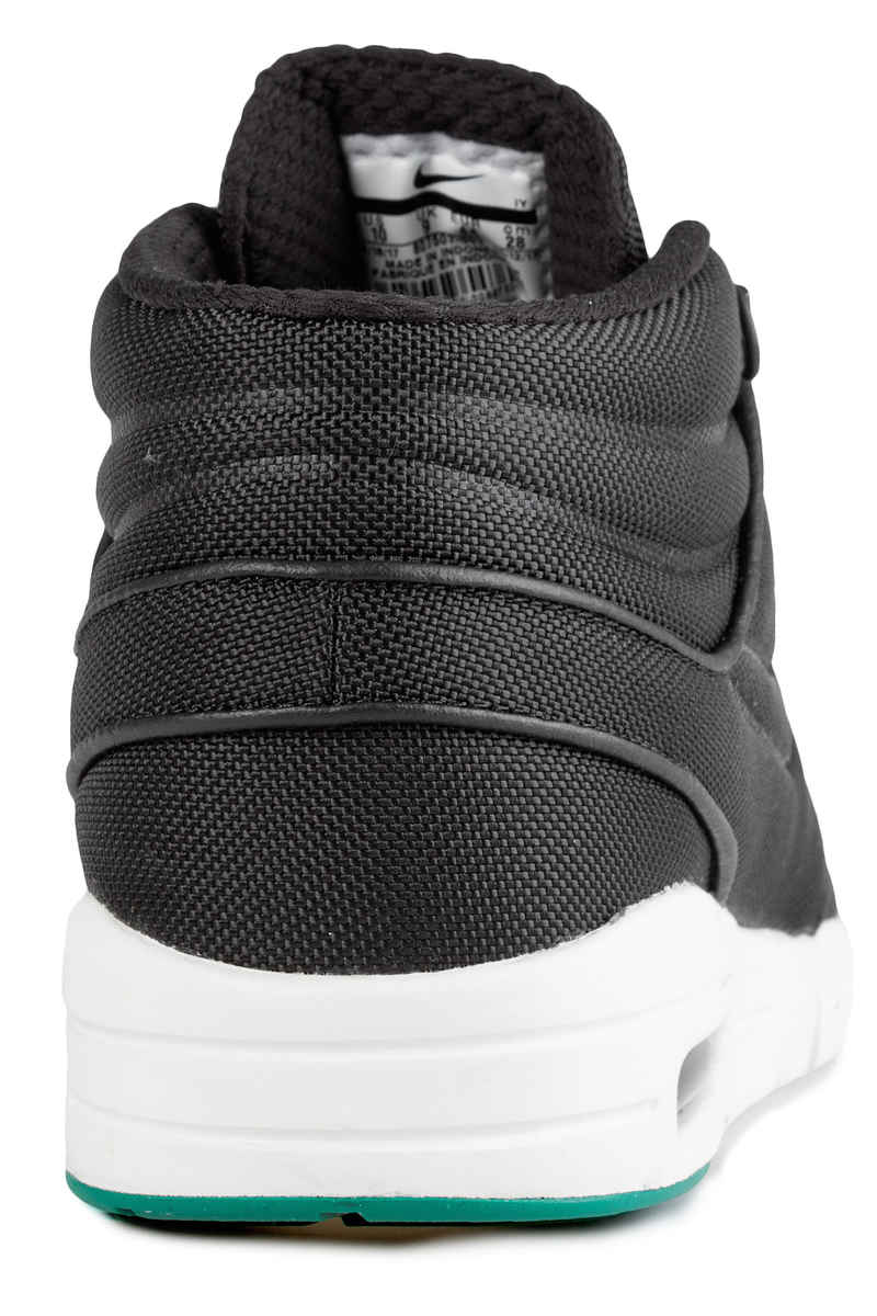 Nike SB Stefan Janoski Max Mid Schuh (black neptune green)