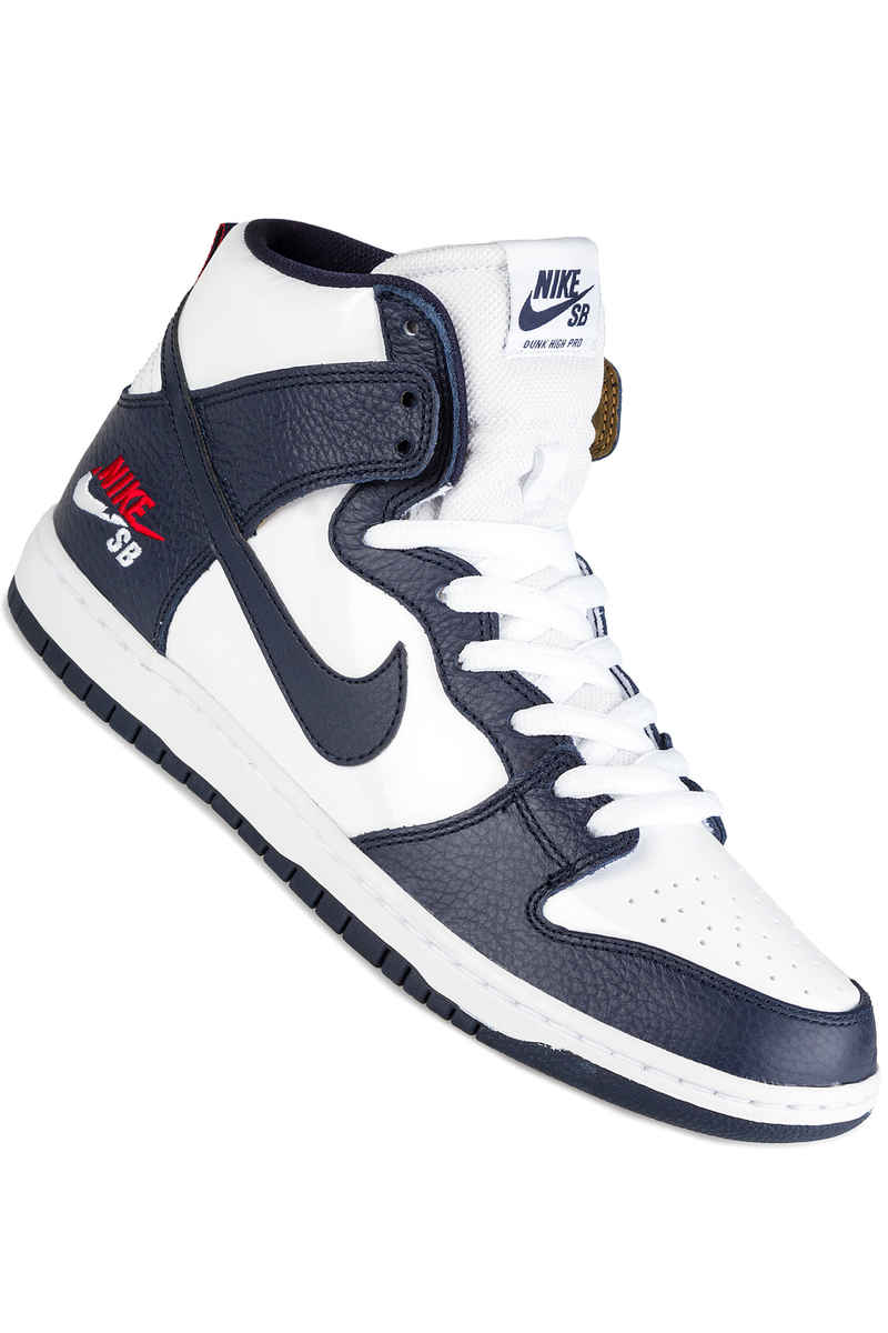Nike SB Zoom Dunk High Pro Brian Anderson Shoes (obsidian white)