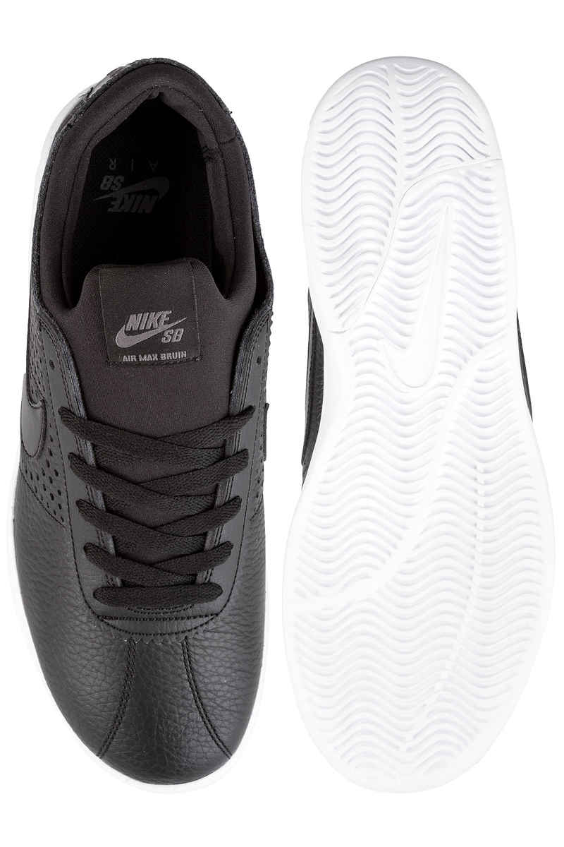 Nike SB Air Max Bruin Vapor Leather Chaussure (black black dark grey)