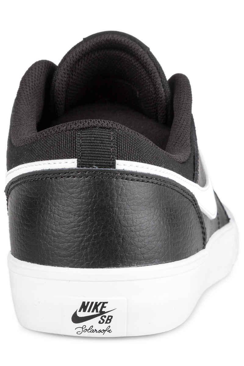 Nike SB Solarsoft Portmore II Premium Chaussure (black white)