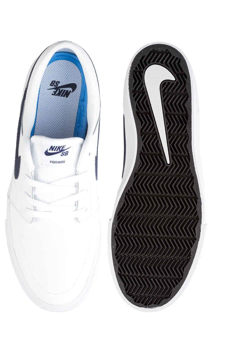 Nike SB Solarsoft Portmore II Premium Schuh (white obsidian)
