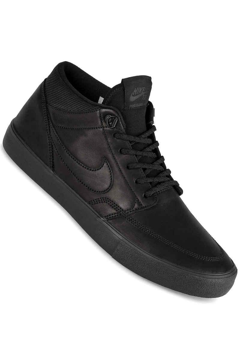 Nike SB Solarsoft Portmore II Mid Bota Shoes (black)