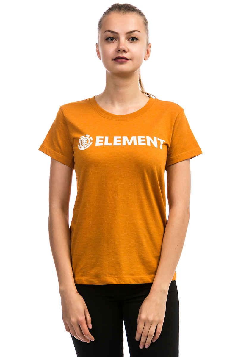 Element Logo T-Shirt women (ochre)