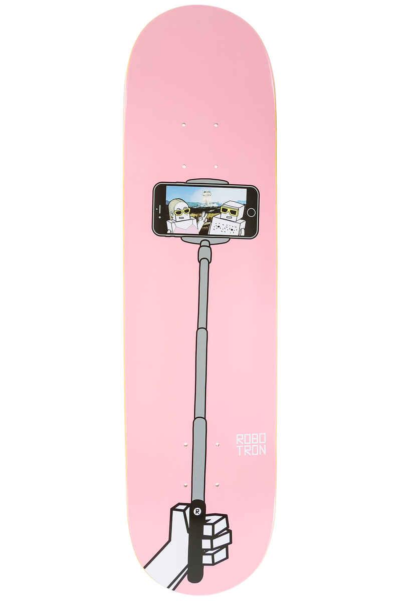 """Robotron Selfie Stick Happy Couple 8"""" Planche Skate (rose)"""