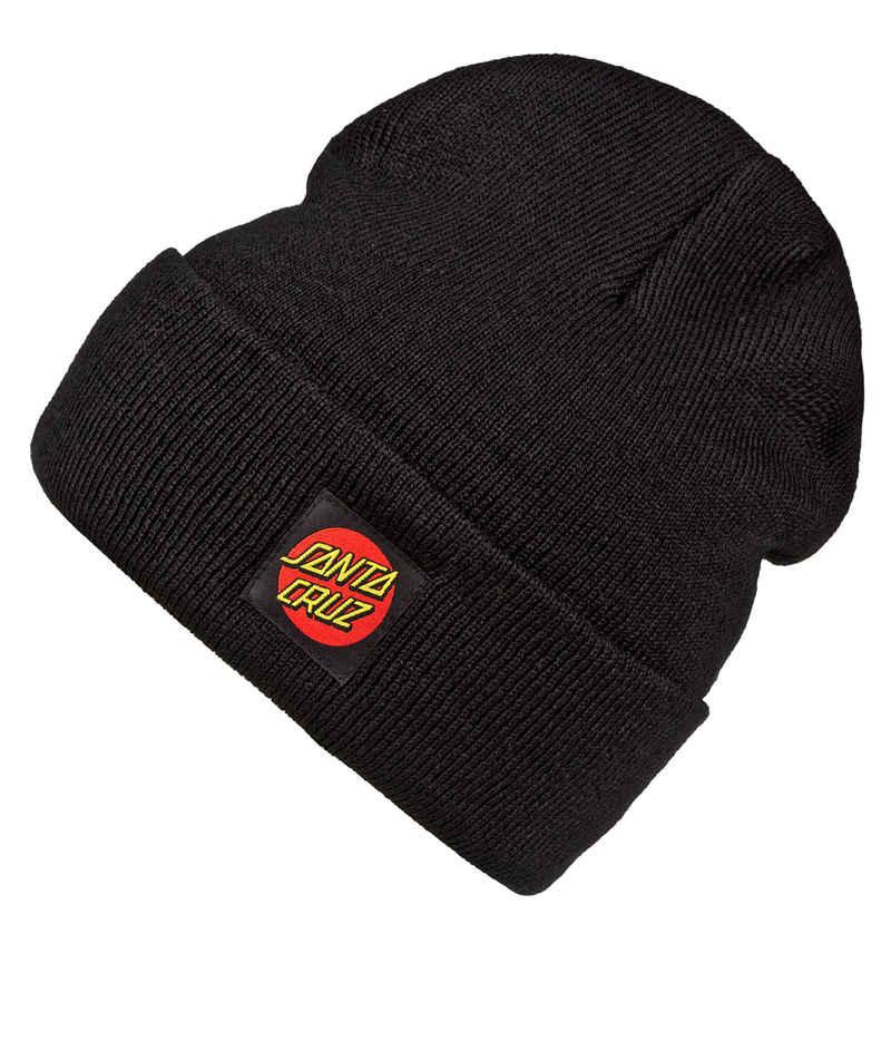 Santa Cruz Classic Label Dot Mütze (black)