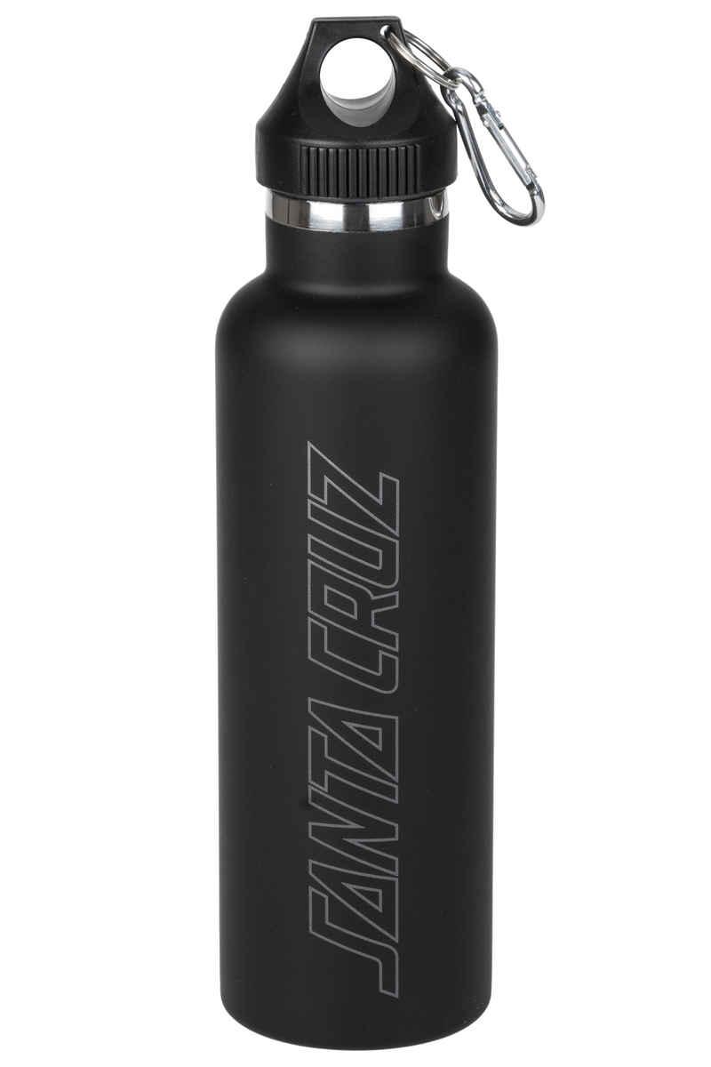 Santa Cruz Outline Strip Drinks Petaca (black)