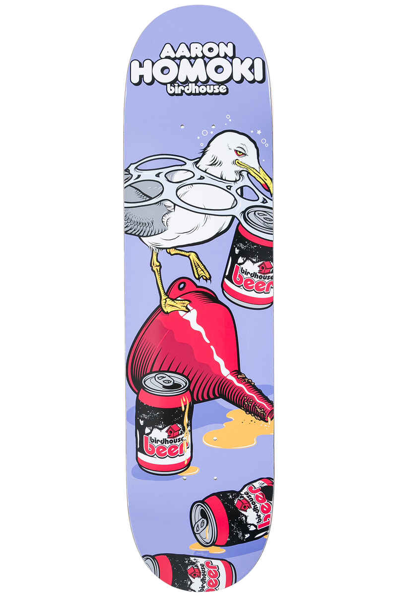 "Birdhouse Jaws Fowl 8"" Deck (purple)"