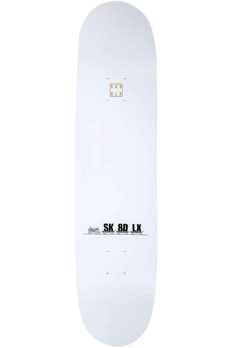 "SK8DLX Car Series 8"" Deck (grey)"