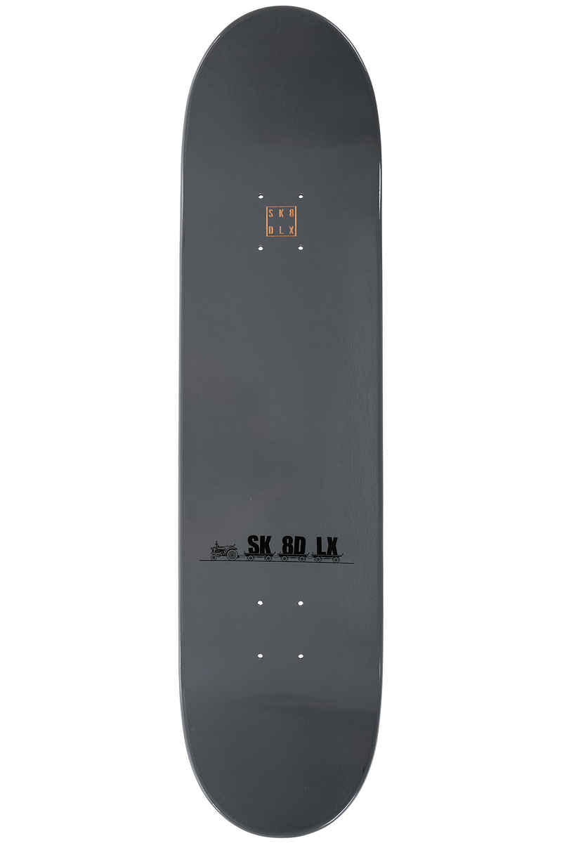 "SK8DLX Car Series 8.125"" Deck (grey)"