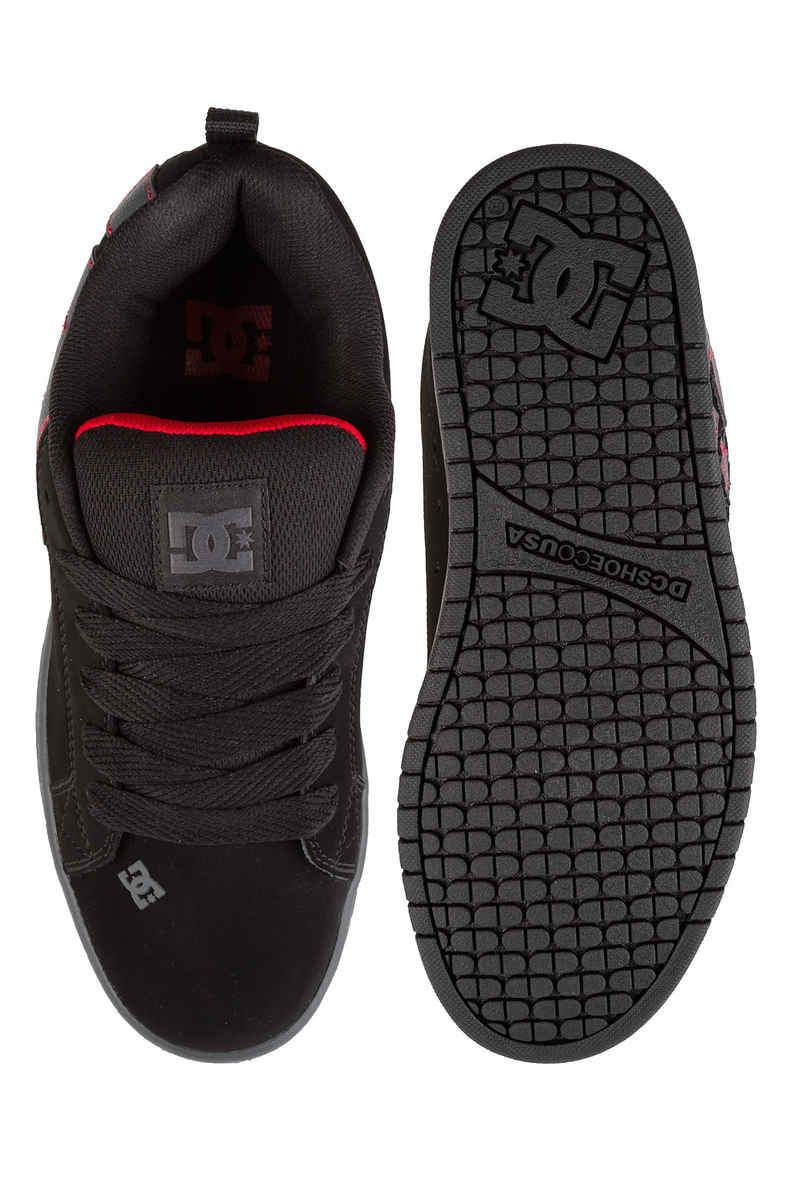 DC Court Graffik Schoen (black dark grey)