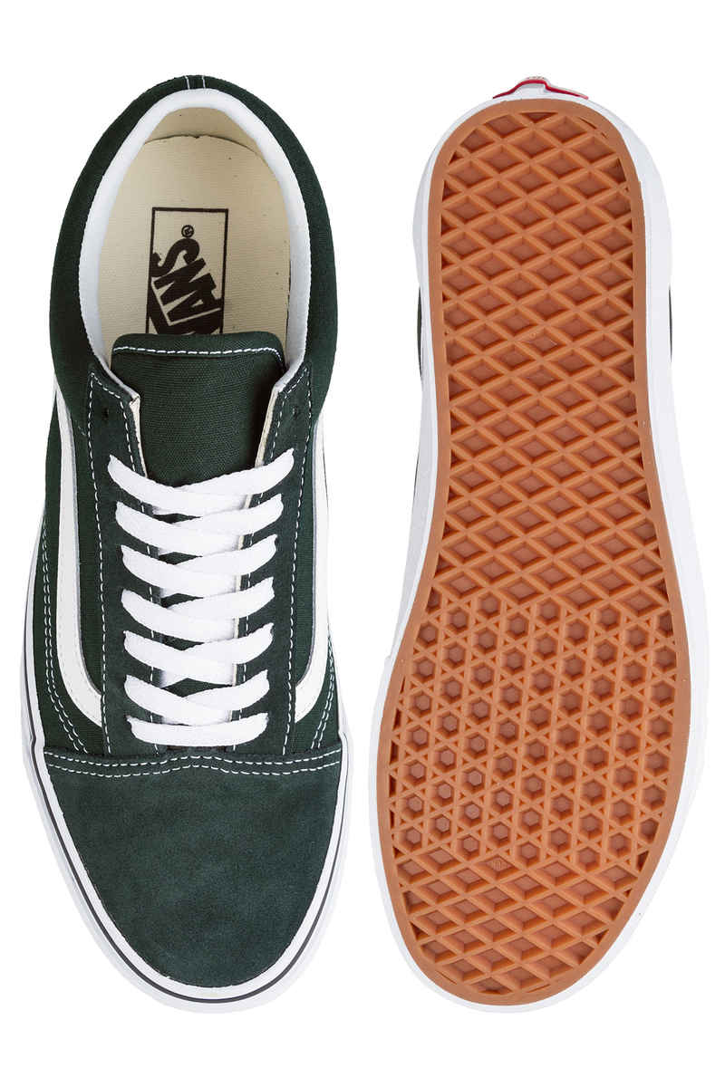 Vans Old Skool Shoes (scarab true white)