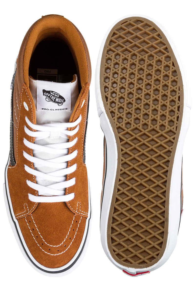 Vans Sk8-Hi Pro Shoes (glazed ginger black white)