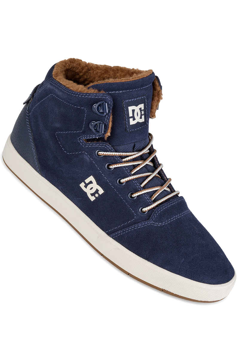 DC Crisis High WNT Shoes (navy camel)