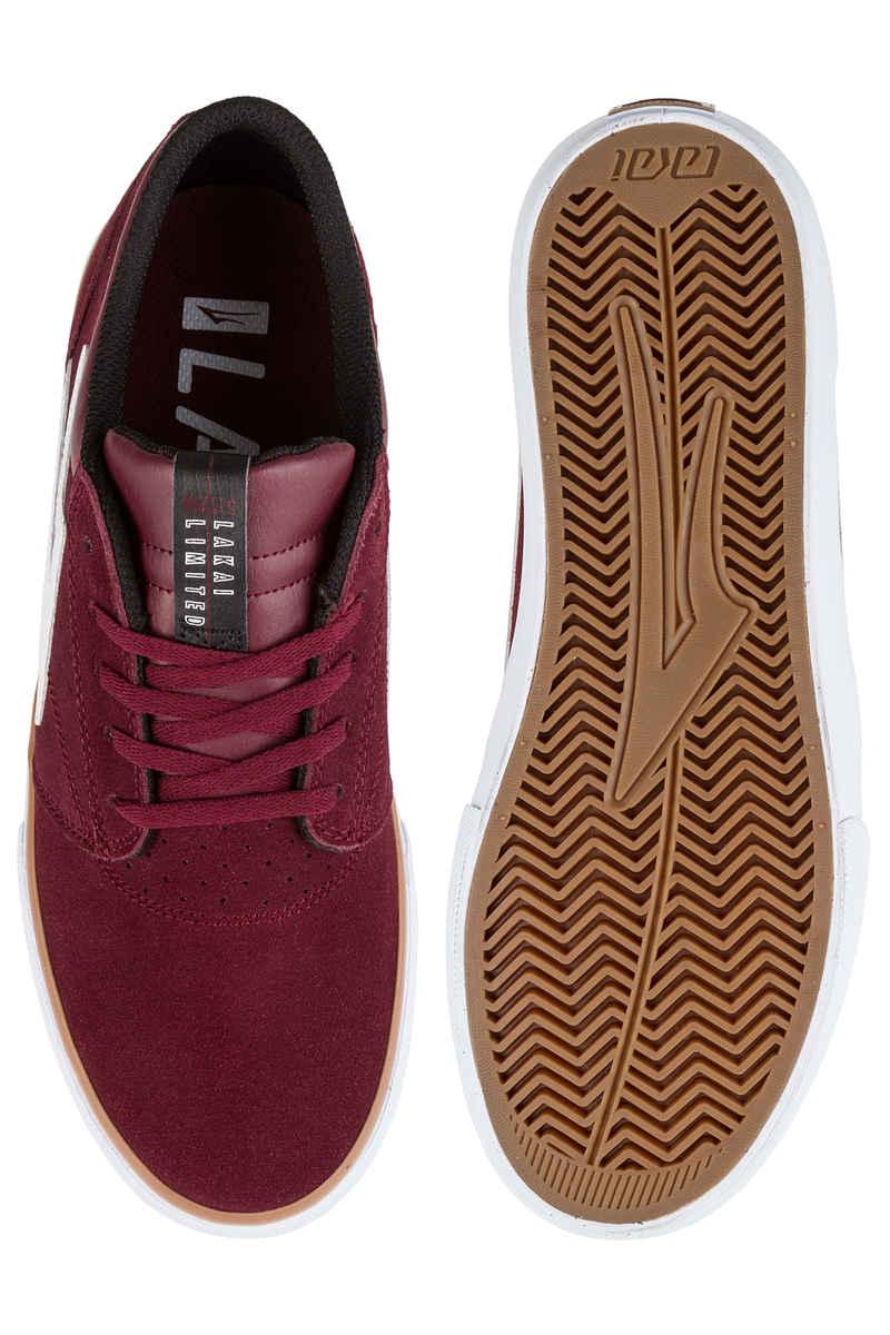 Lakai Griffin Suede Chaussure (burgundy)
