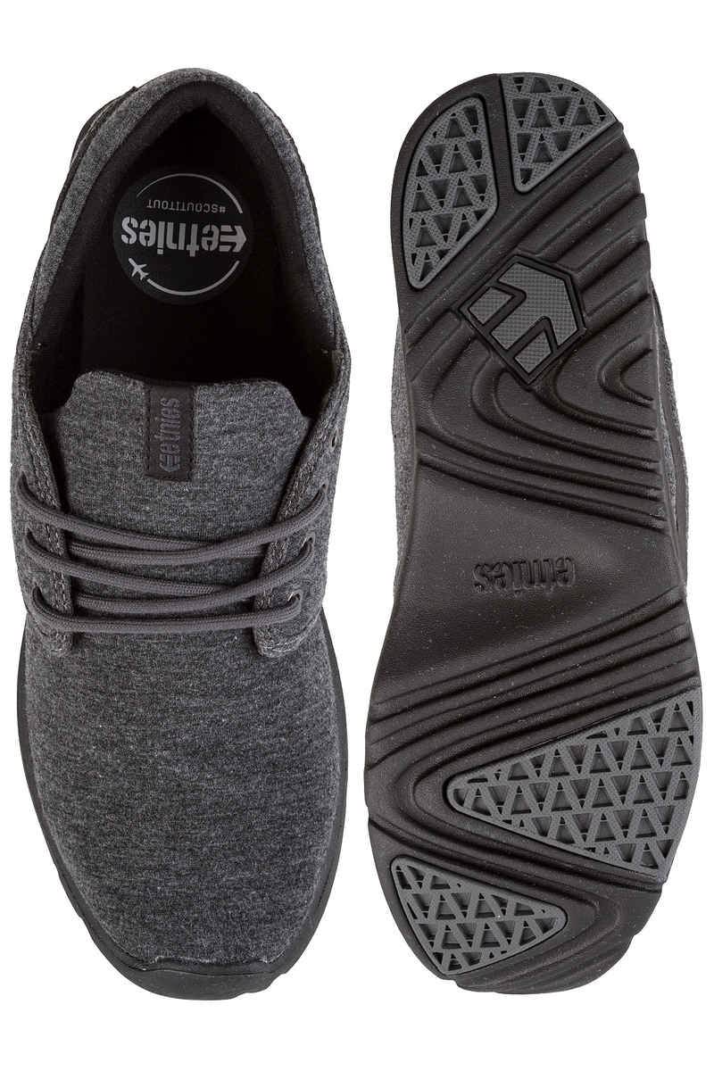 Etnies Scout Schuh (black grey silver)
