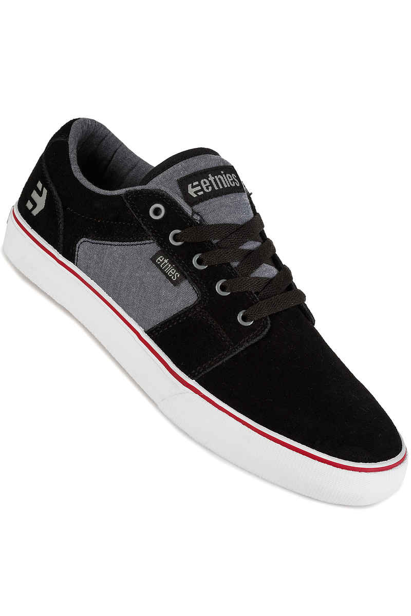 Etnies Barge LS Schuh (black charcoal silver)