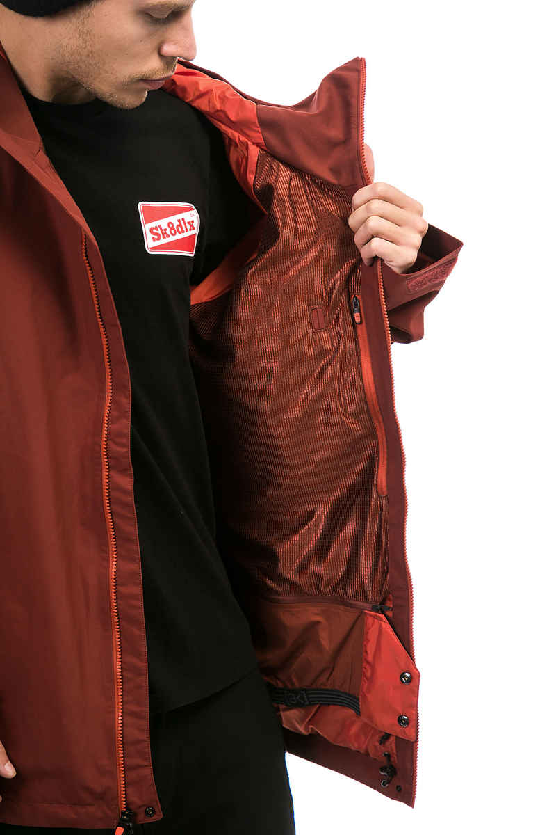 Burton AK GORE-TEX® Cyclic Snowboard Jacket (fired brick bitter)