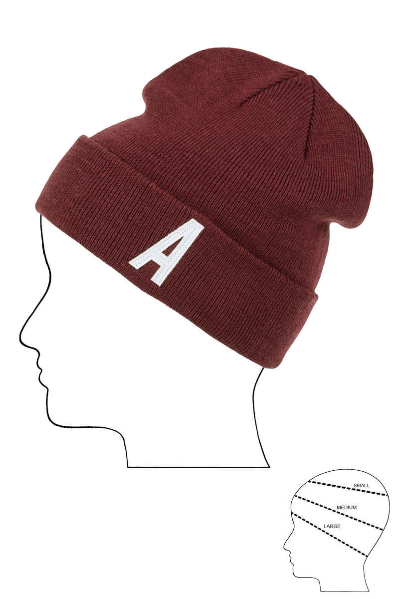 Antix Alpha Mütze (burgundy)